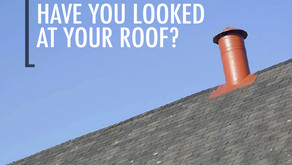 Have you looked at your roof? Your insurance company does..