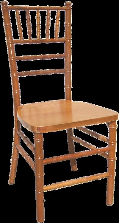 Wood Chiavari Chair-Natural