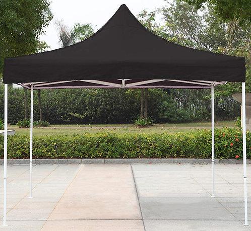 10' x 10' Heavy Duty Easy Open Retractable Canopy W / 2 Tops