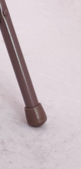 Cap for Poly / Plastic Folding Chair (BROWN)
