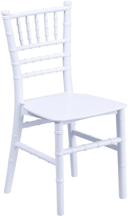Children's Resin Chiavari Chair   White