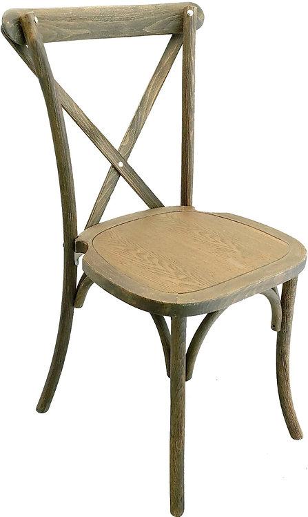 Crossback Chair-Black Grain