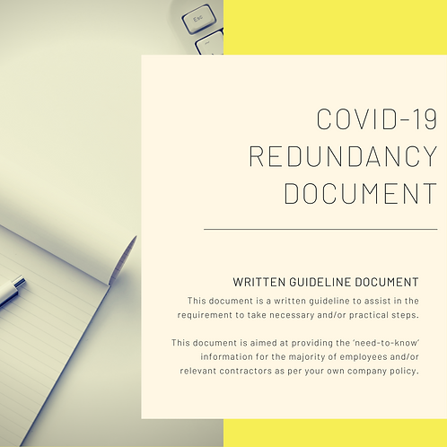 Covid-19 Redundancy Document