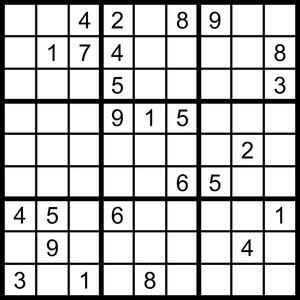 Free Hard Sudoku Puzzle