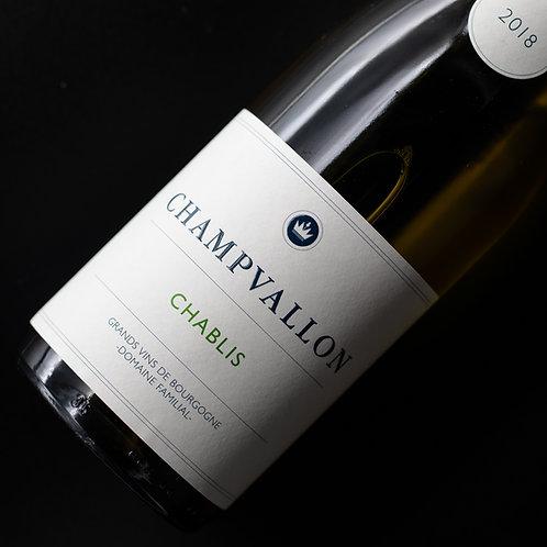 Domaine de Champvallon - Chablis 2018 - Bourgogne
