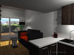 Studio mezzanine Nice Salon Aprés