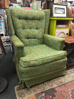 Green Paisley chair