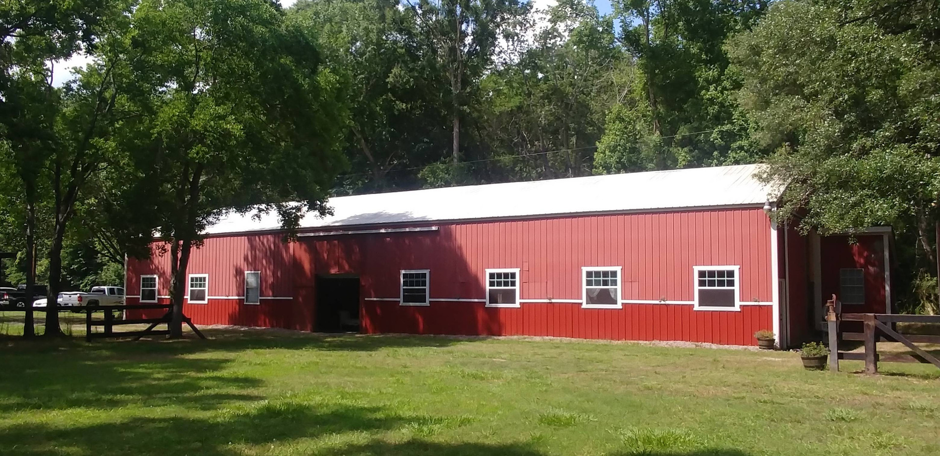 Our 4,000 square foot barn that houses our prop rooms