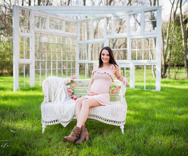 Expecting? Maternity shots have become very popular here!