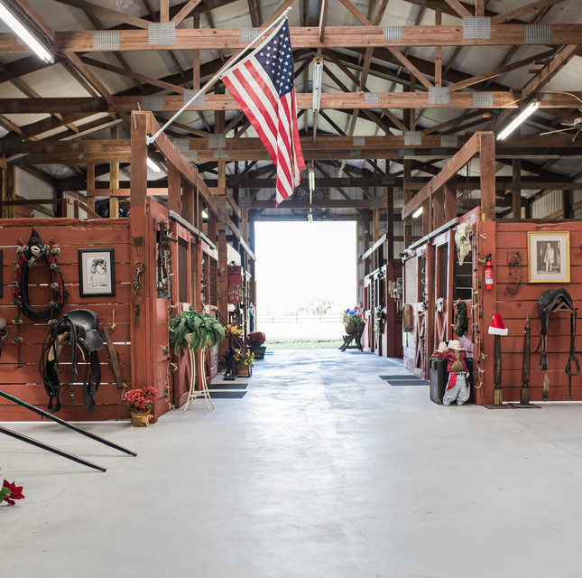 When you walk inside the barn you'll find our theme rooms
