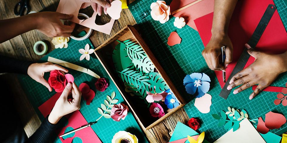 Craft Saturdays at Dey Mansion