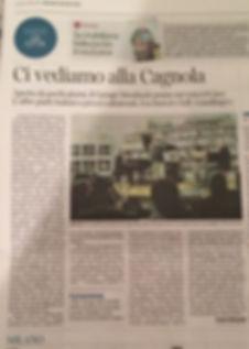 articolo del corriere sul moulinski, locale serale di milano con musica dal vivo