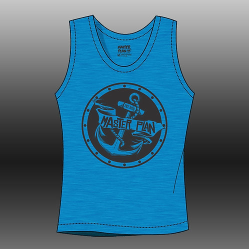Anchored Tank - Blue