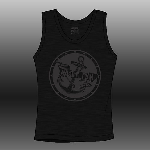 Anchored Tank - Black
