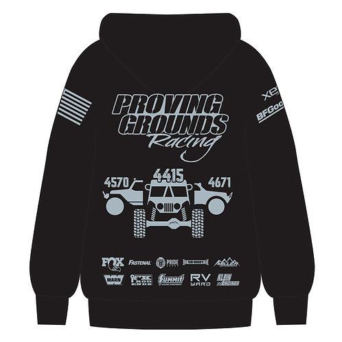 Proving Grounds Racing 2021 Hoodie, Black