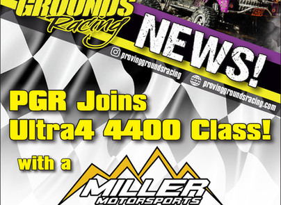 PGR Joins 4400 Class with a Miller Chassis