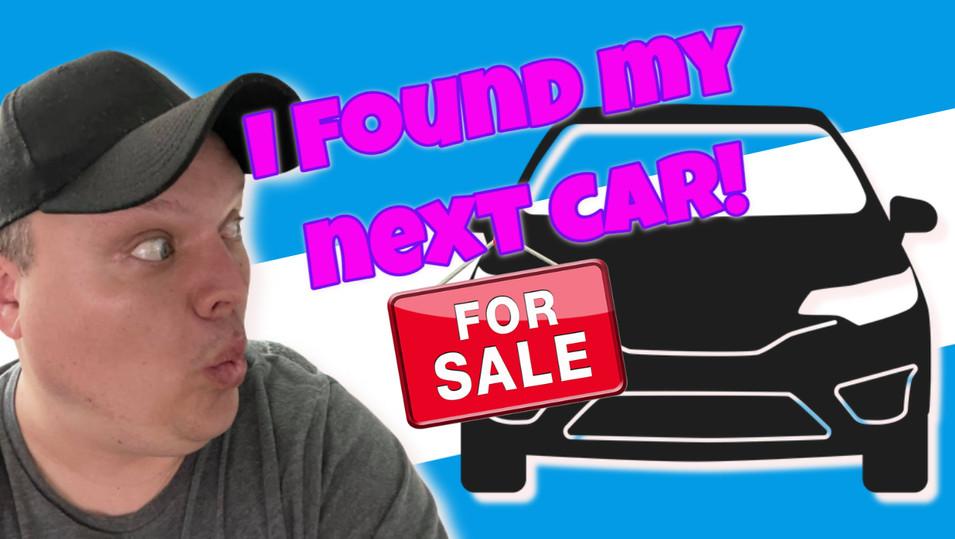 I Found My Next Car