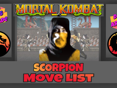 Scorpion's Mortal Kombat Move List