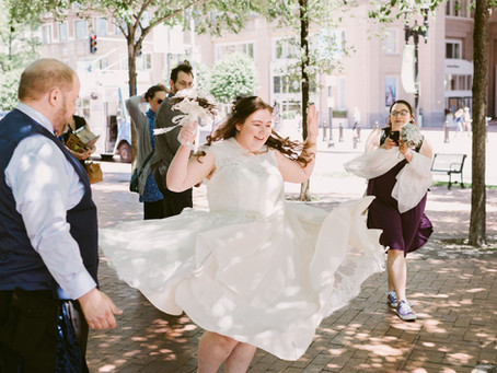 Intimate Wedding on the Boston Harbor