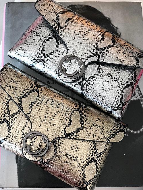 Silver Belt Bag