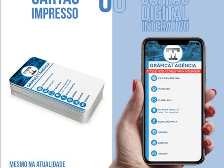 Cartão de Visita Digital: tendencia de mercado, use a seu favor