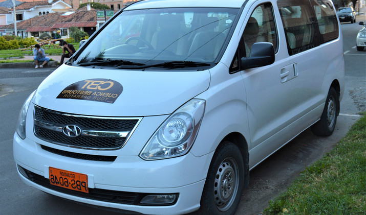 Guayaquil to Cuenca Shuttle 1-6 pax