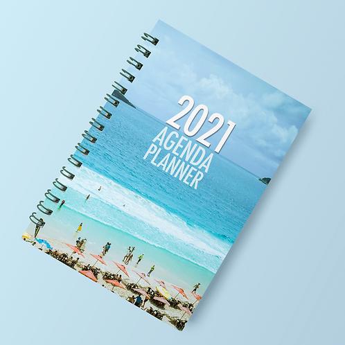 Agenda com Planner mídias sociais 2021