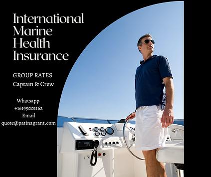 Marine Crew medical insurance