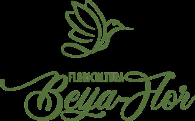 Logo Floricultura Beija Flor