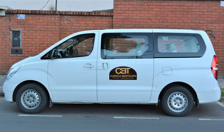 Cuenca to Guayaquil shuttle 1-6 pax