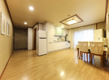 Family room (2 Bed room + Common Room + Private Bathroom)