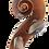 Thumbnail: Deutsche 4/4 Geige mit Zettel Albin Wilfer