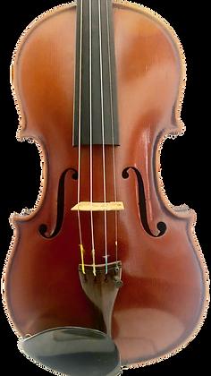 Deutsche 4/4 Geige mit Zettel Albin Wilfer