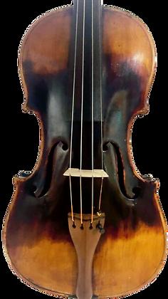 Bayerische 4/4 Löwenkopf-Geige um 1850