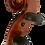 Thumbnail: Geflammte 4/4  Schüler-Violine von Meinel & Herold, Klingenthal