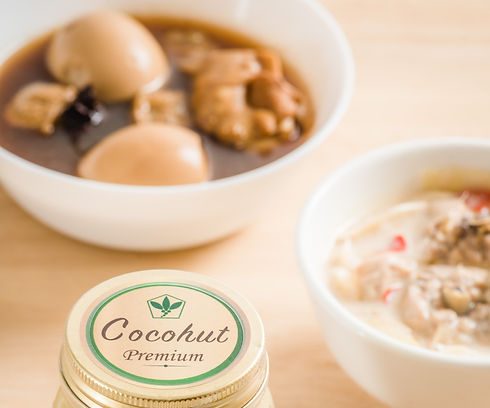 Soup made with Cocohut