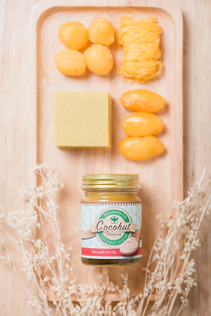 Thai sweet made with Cocohut