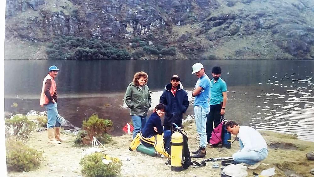 Buceo en altitud por Alvaro Silva en Venezuela