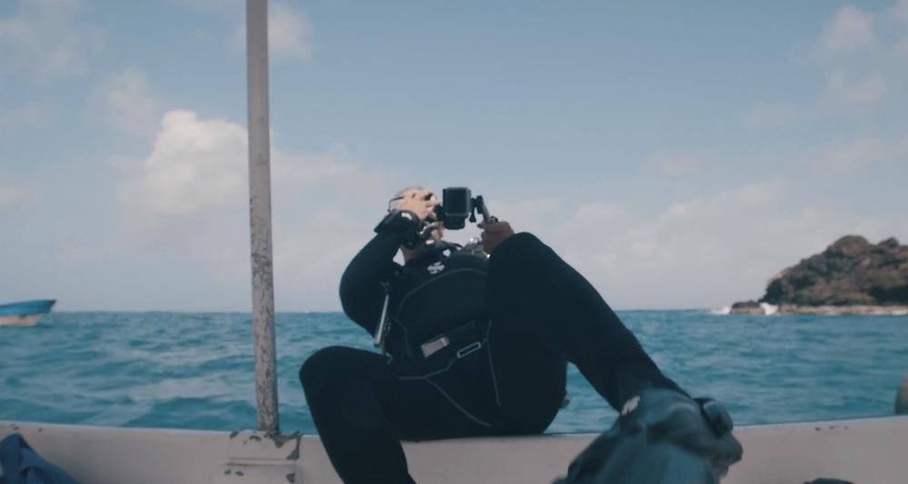 curso de buceo en bote