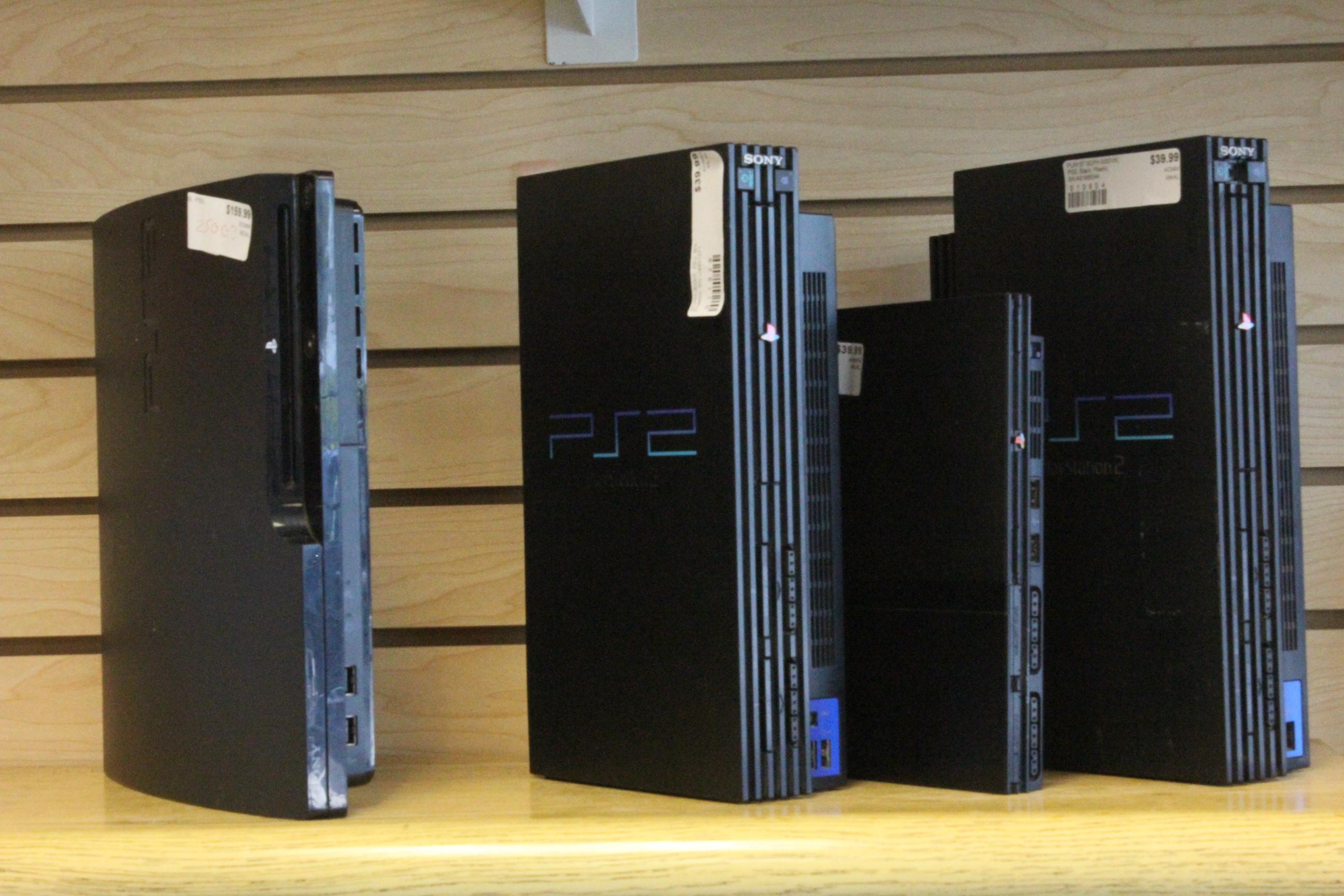 PS3, PS2, & PS4