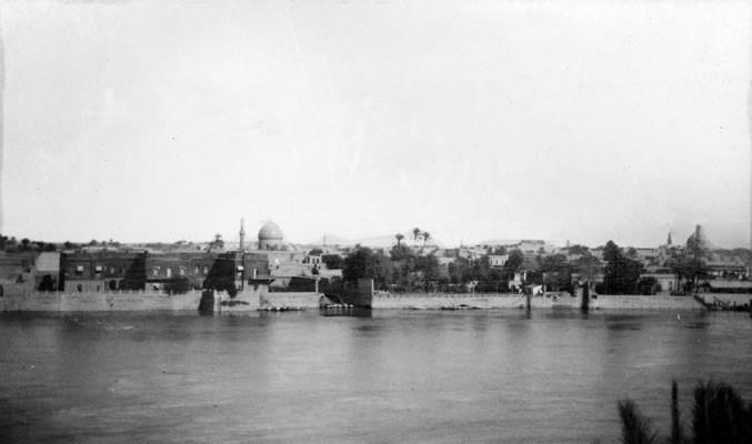 Bagdade e o rio Tigre