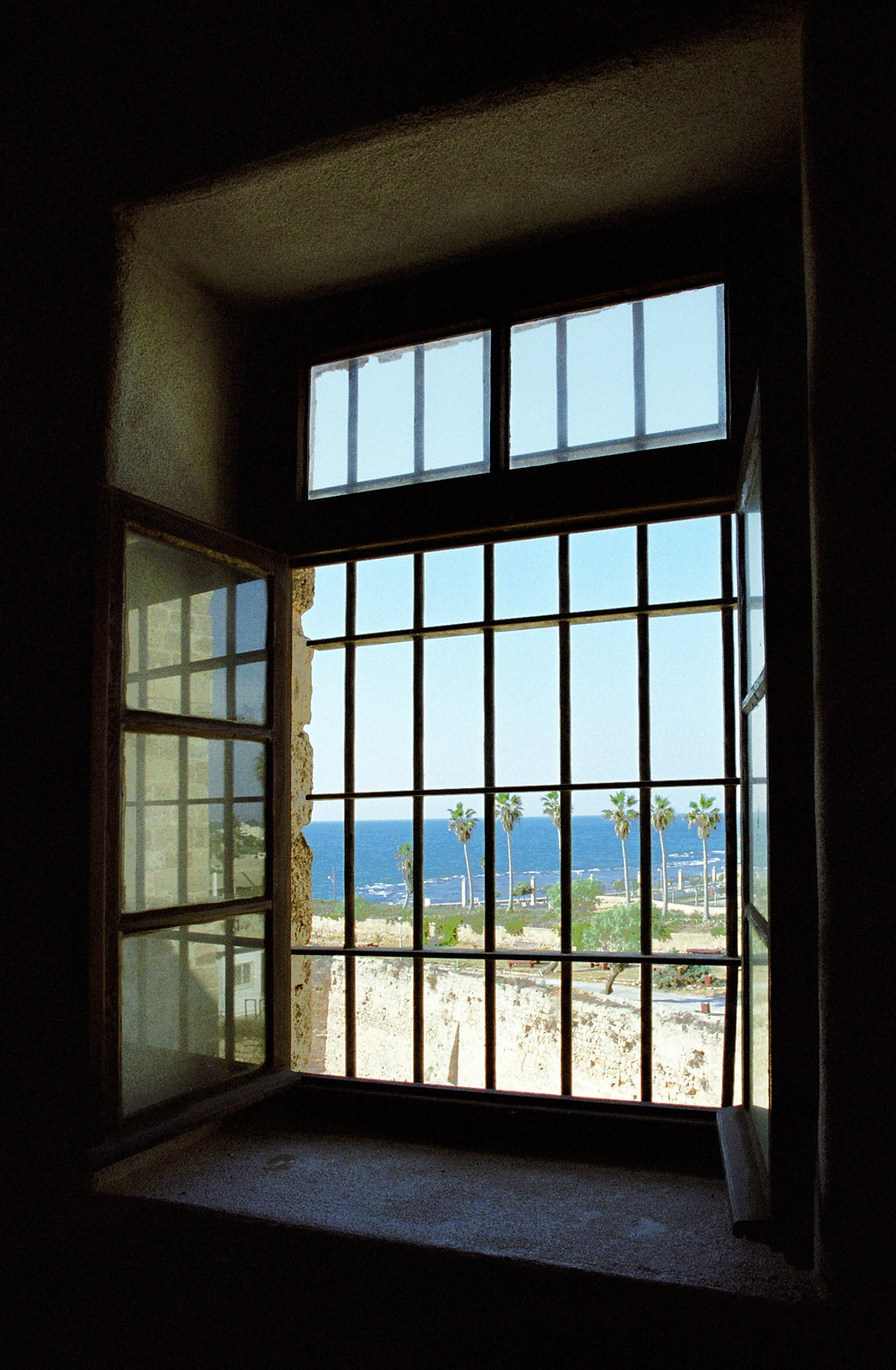 A janela da cela de Bahá'u'lláh