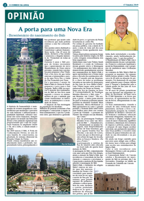 O bicentenário na imprensa local e regional