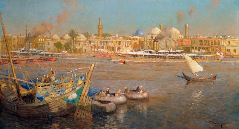 Pintura de Baghdád