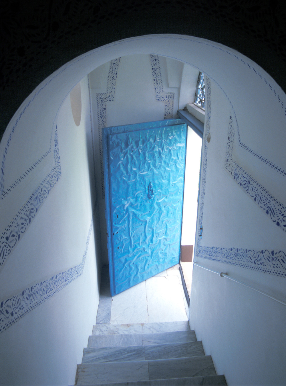 Escadaria da Mansão de Bahjí