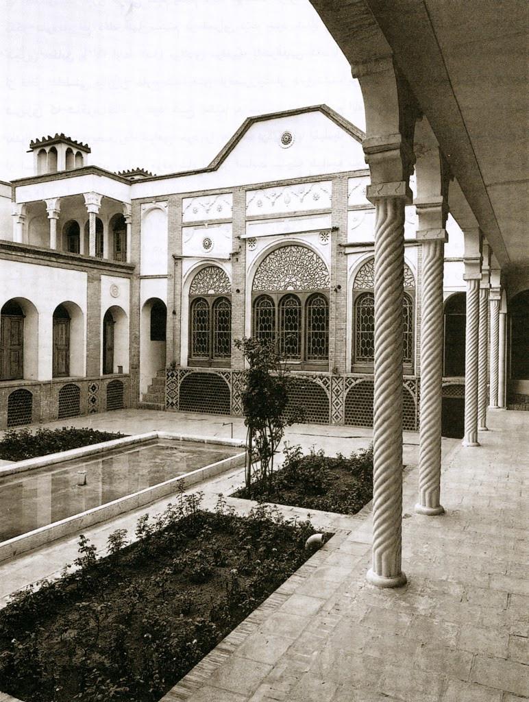 A casa de Bahá'u'lláh no Teerão