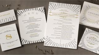 Letterpress Invitations Get Modern