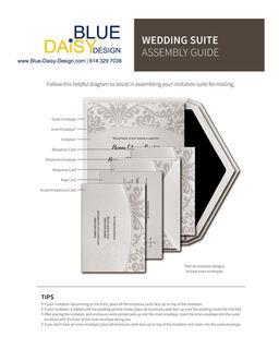 Blog Wedding Invitations Save the Dates Blue Daisy Design