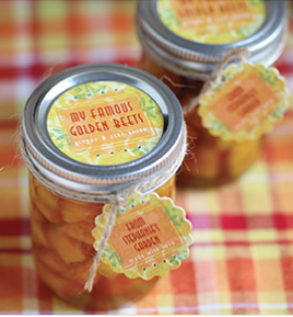 Jar Labels Favors Custom