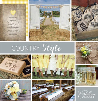 Columbus Ohio Wedding Invitations Country Style